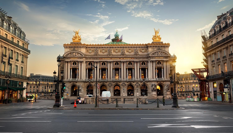 Paryžius. Ch. Garnier opera