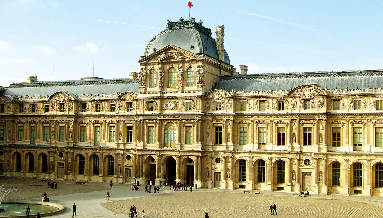 Paryžius. Luvro muziejus
