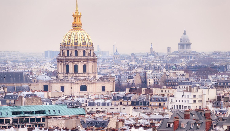 Paryžius. Invalidų rūmai