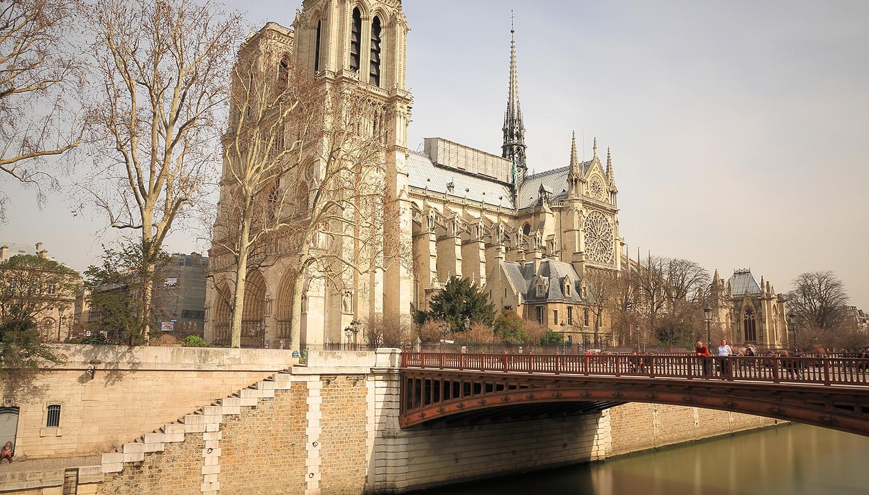 Paryžius. Noterdamo Katedra