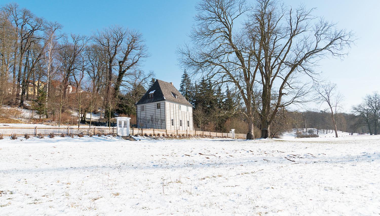 Vokietija. Veimaras. J.V. Getės namas ir sodas