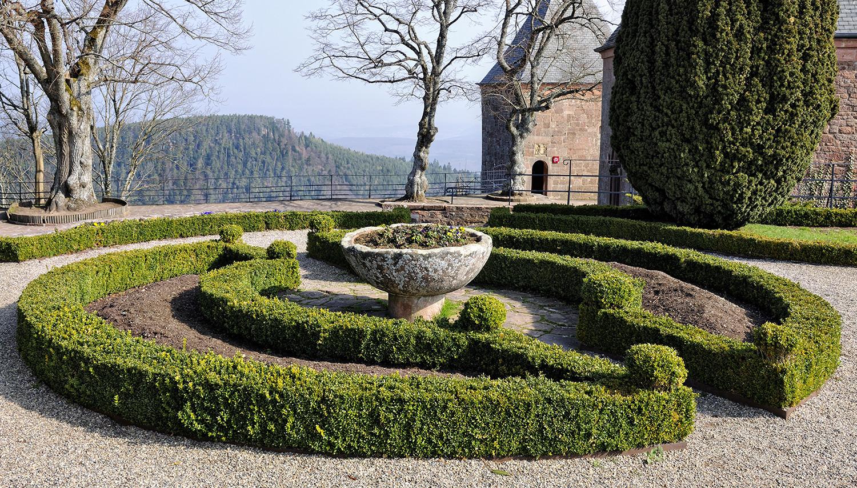 Prancūzija. Elzasas. Šv. Odilės vienuolynas