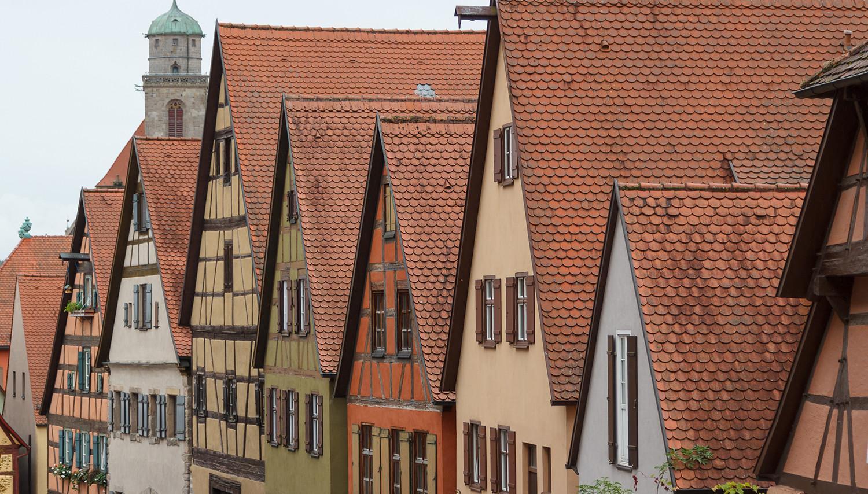 Vokietija. Dinkelsbiulio architektūra