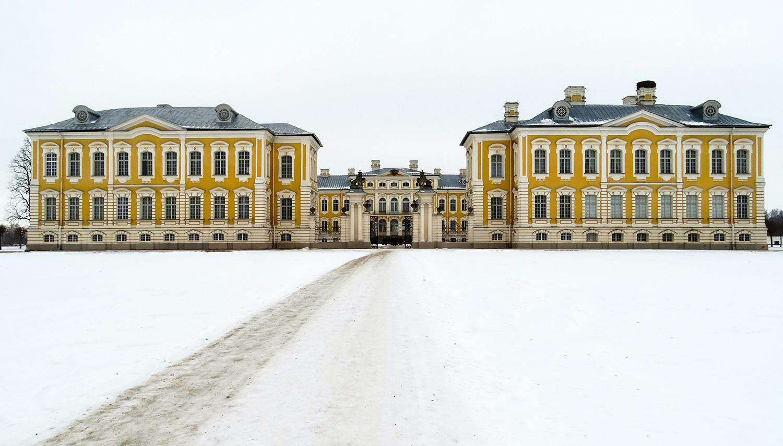 Latvija. Rundalės pilis