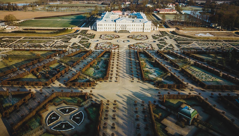 Rundalės pilis ir parkas