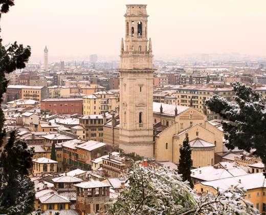 Italija. Verona