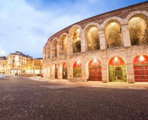 Verona. Romėnų amfiteatras