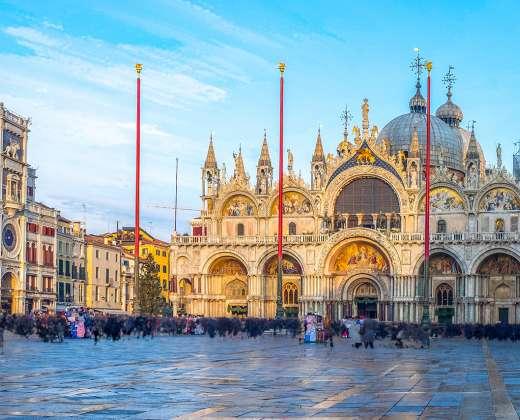 Venecija. Šv. Morkaus aikštė