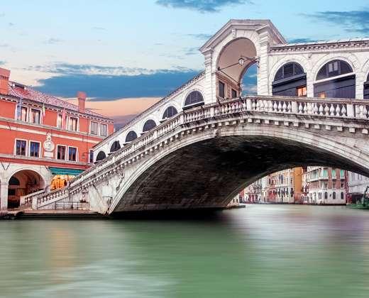 Venecija. Rialto tiltas