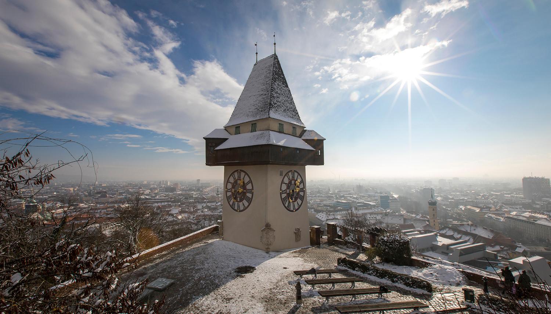 Gracas. Laikrodžio bokštas