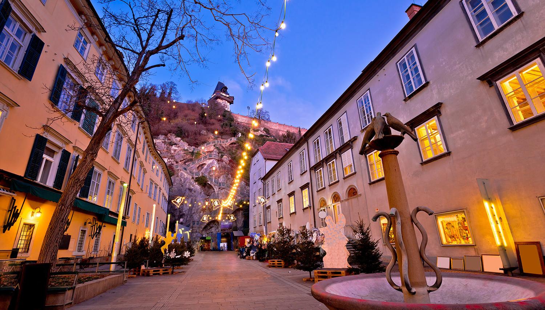 Gracas. Miesto centras
