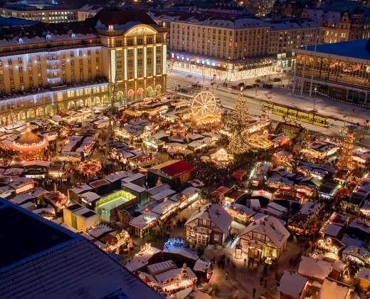 Vokietija. Drezdeno Kalėdų mugė
