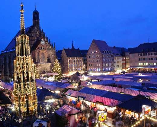 Vokietija. Niurnbergo Kalėdų mugė