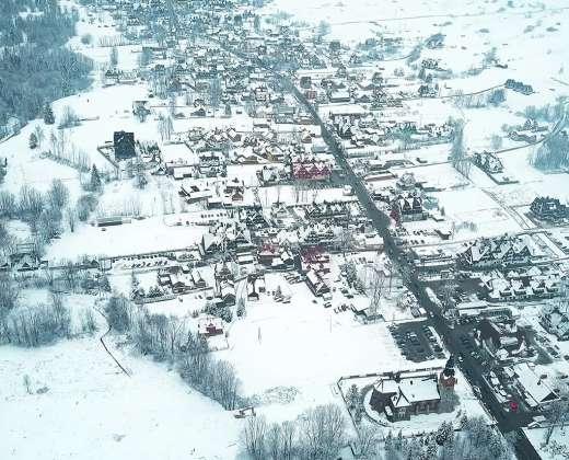 Lenkija. Bialka Tatranska slidinėjimo kurortas