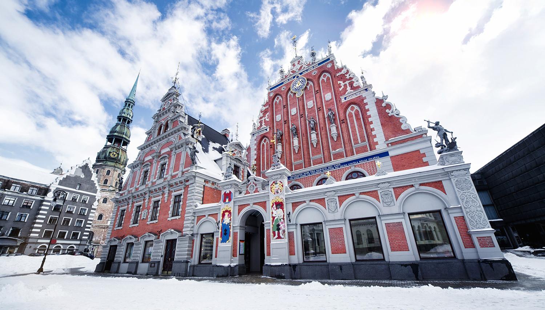 Ryga. Šv. Petro bažnyčia