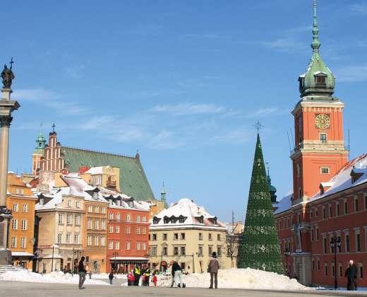 Lenkija. Varšuvos senamiestis