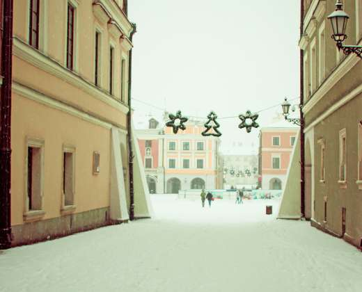 Lenkija. Zamostė