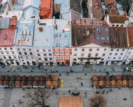 Ukraina. Lvovas