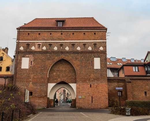 Torunė. Miesto vartai