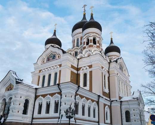 Estija. Talinas. Aleksandro Nevskio katedra