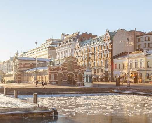Helsinkis. Turgaus aikštė