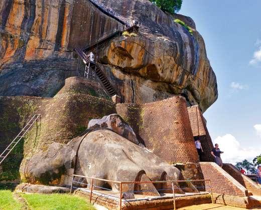 Šri Lanka. Sigirija