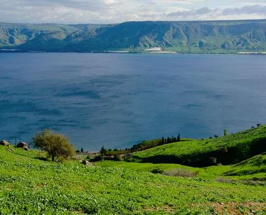 Izraelis. Galilėjos ežeras