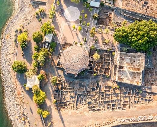 Izraelis. Kafarnaumas