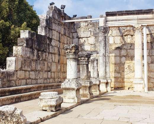 Izraelis. Kafarnaumo sinagoga