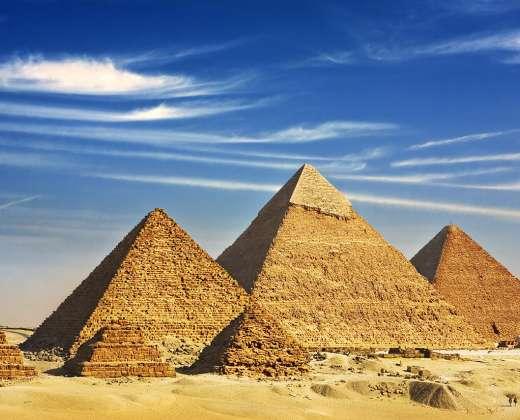 Egiptas. Kairas. Gizos piramidės
