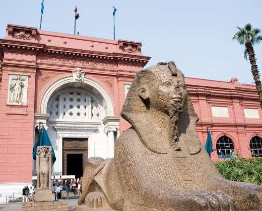 Egiptas. Egipto Nacionalinis muziejus