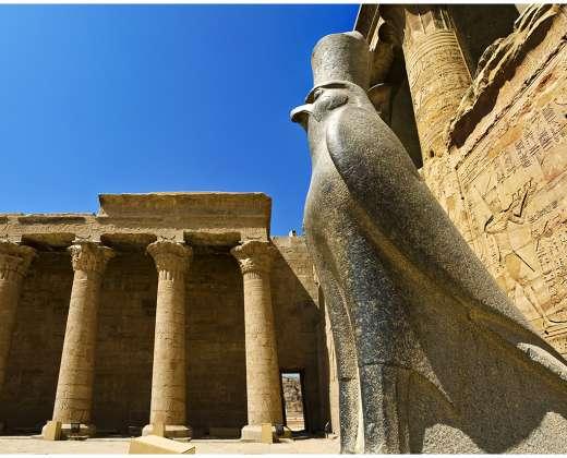Edfu. Horo šventykla