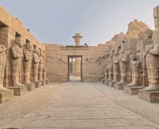 Luksoras. Karnako šventykla