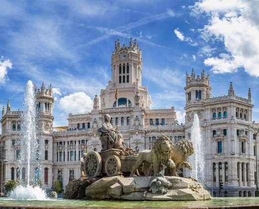 Ispanija. Madridas. Sibelės aikštė