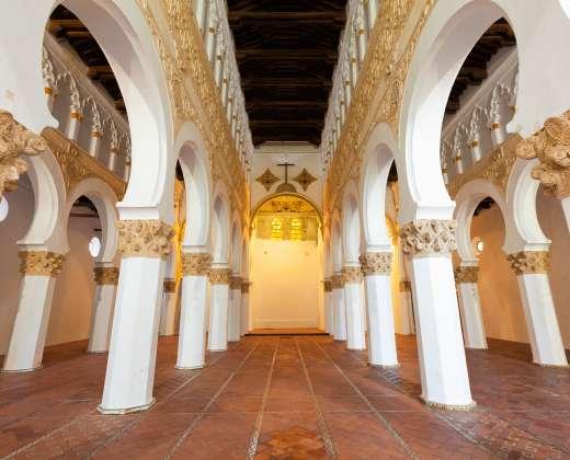 Ispanija. Toledas. Švč. Mergelės Marijos Baltosios bažnyčia