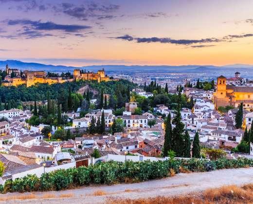 Ispanija. Granada
