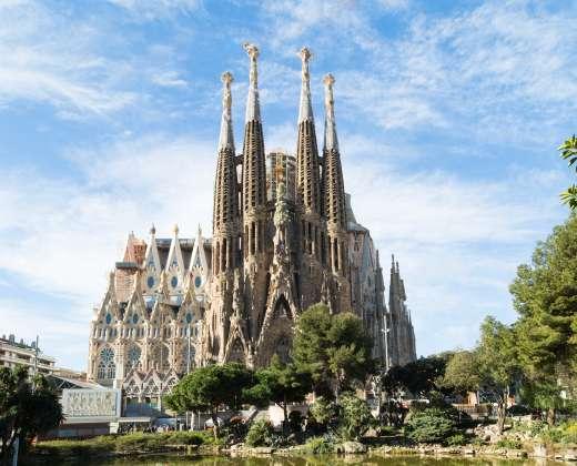 Ispanija. Šventosios šeimos bažnyčia