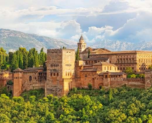 Ispanija. Alhambra rūmai