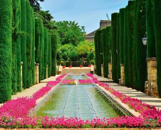 Ispanija. Sevilija. Alkasaro rūmų sodai