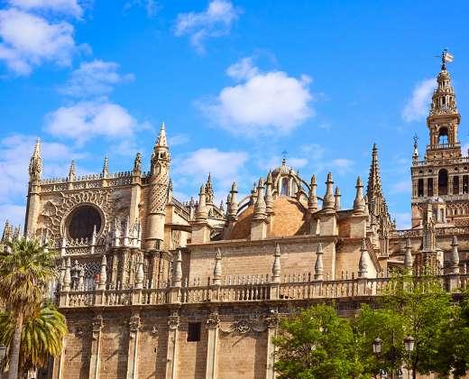 Ispanija. Sevilija. Katedra