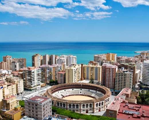 Ispanija. Malaga