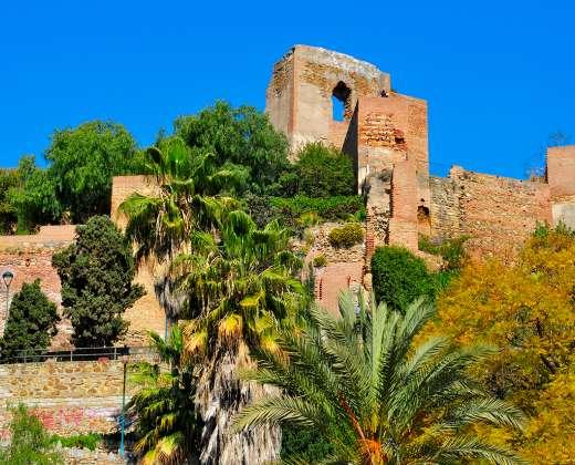 Ispanija. Malaga. Alkazabo maurų pilis
