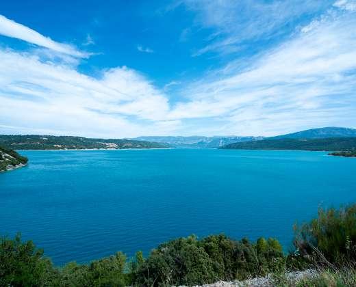 Prancūzija.  Saint Croix ežeras