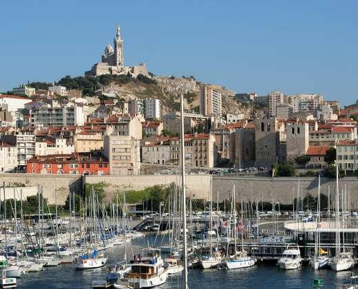 Prancūzija. Marselio uostas