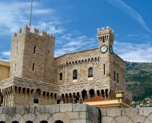 Monakas. Monako princo rūmai