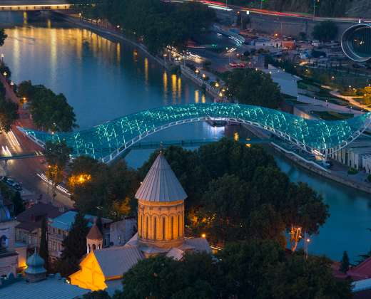 Gruzija. Tbilisis