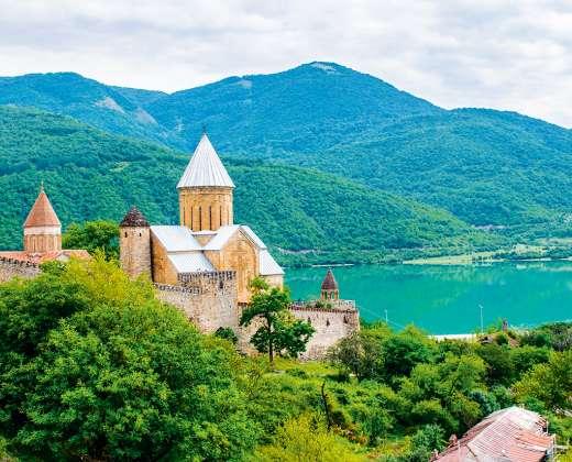 Gruzija. Kachetijos regionas