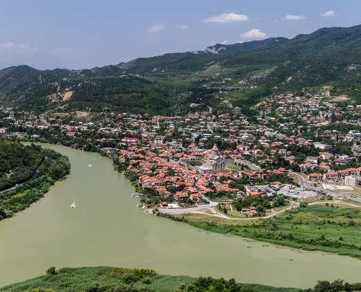 Gruzija. Ananuri tvirtovė