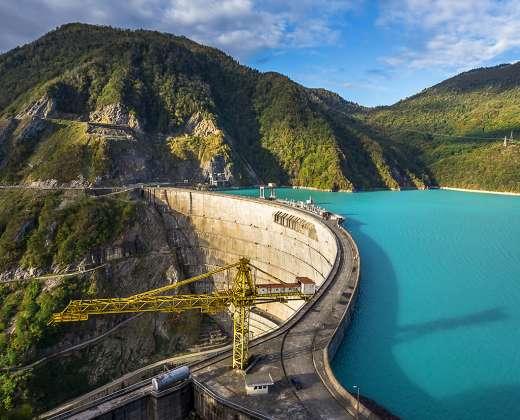 Gruzija. Boržomio mineralinių vandenų kurortas
