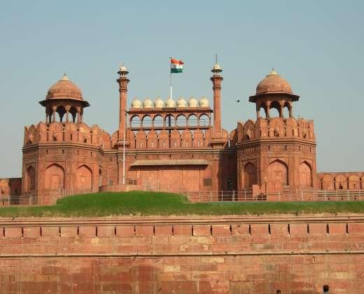 Indija. Delis. Raudonasis fortas
